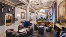 Lobby of Le Pavillon Hotel, New Orleans