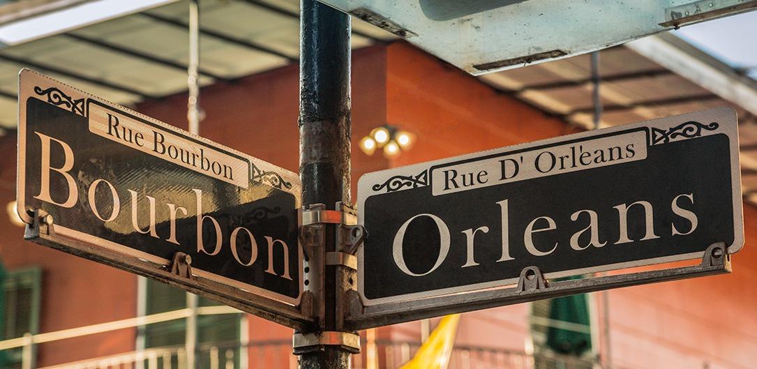 Bourbon Street & French Quarter