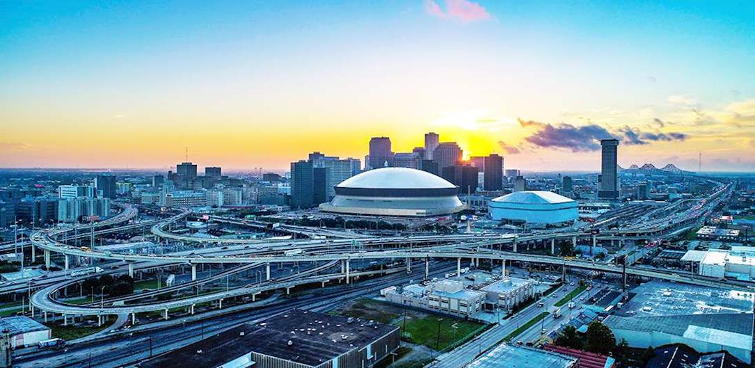 Arenas and Stadiums in New Orleans